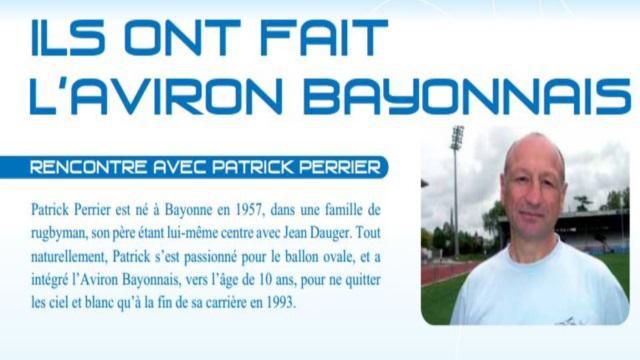 Aviron Bayonnais. L'ancien centre international Patrick Perrier est décédé