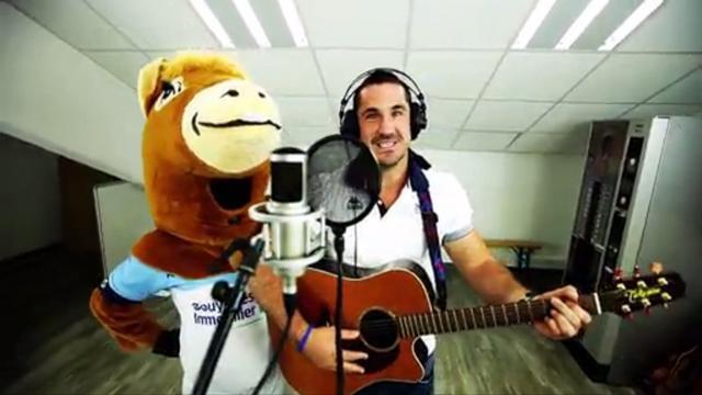 VIDEO. Scott Spedding et l'Aviron Bayonnais poussent la chansonnette en faveur des enfants malades