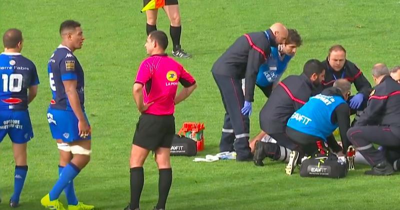 Mathieu Babillot avait-il raison de réclamer un en-avant sur la blessure de Louis-Benoît Madaule ?
