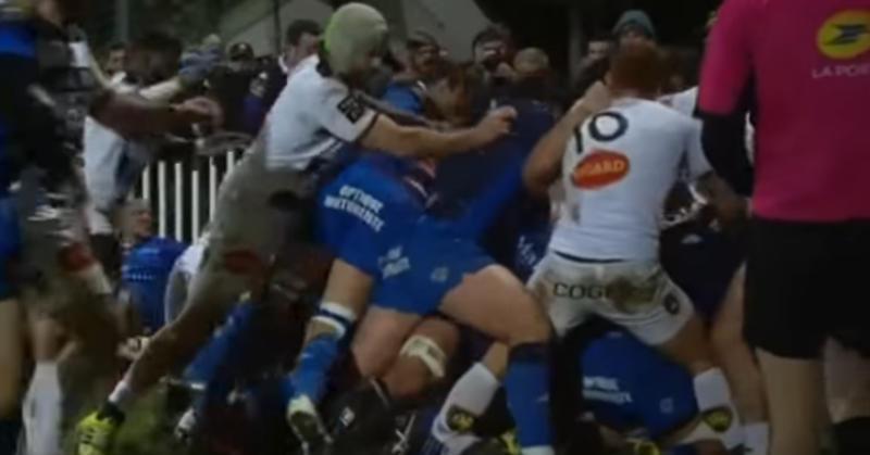 Quand La Rochelle et Castres respectent la valeur ancestrale de la bagarre générale [VIDEO]
