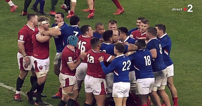VIDEO. Dan Biggar déclenche une bagarre mais les Bleus lui répondent !