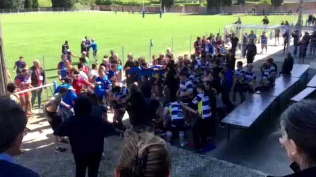 VIDEO. La grosse bagarre générale entre les Juniors de Fleury et Blagnac se propage en tribunes