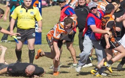 Rugby à XIII : des jeunes Australiens suspendus... 25 ans suite à une énorme bagarre