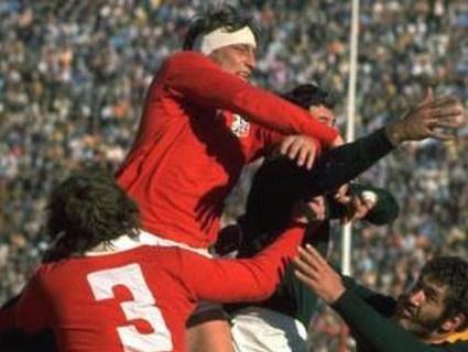 Bagarre entre l'Afrique du Sud et les Lions en 1974