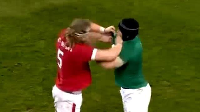 VIDEO. Bagarre et pluie d'essais lors du succès de l'Irlande face au Canada (52-21)