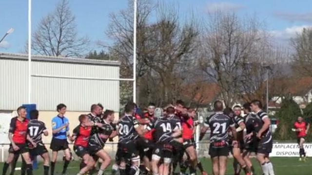 """VIDEO. Rugby Amateur - Fédérale 3 : le RC Seyssins dit """"je t'aime"""" à Annonay avec une grosse bagarre générale"""