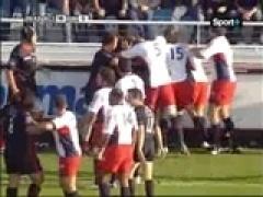 Bagarre Toulon VS Beziers