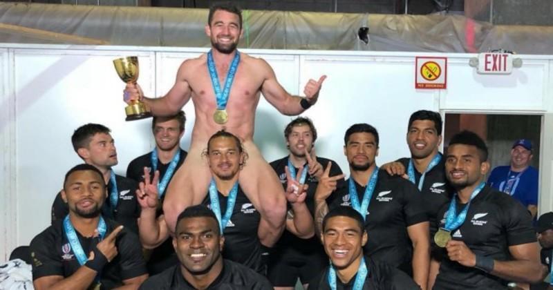 Rugby à 7 – Coupe du Monde. La célébration ''WTF'' de Kurt Baker