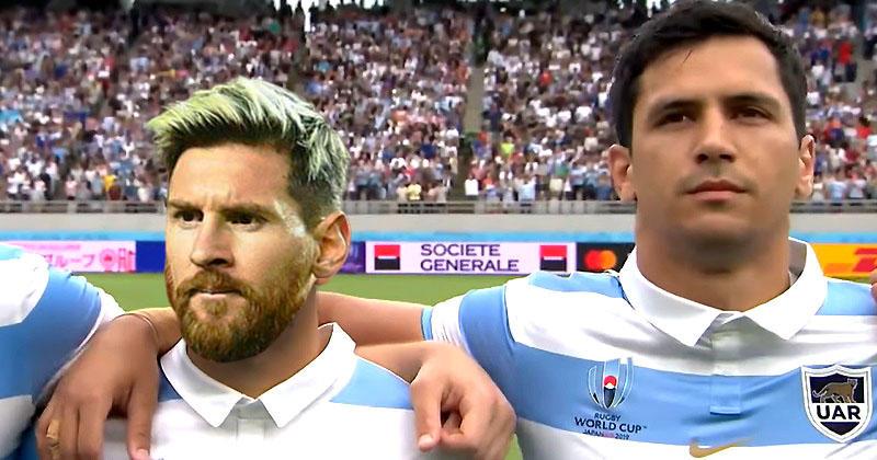 Ballon d'or : et si Lionel Messi avait été rugbyman ?