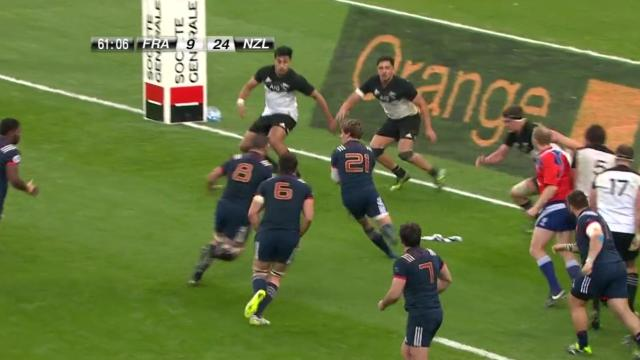 La composition des Bleus face aux All Blacks — XV de France