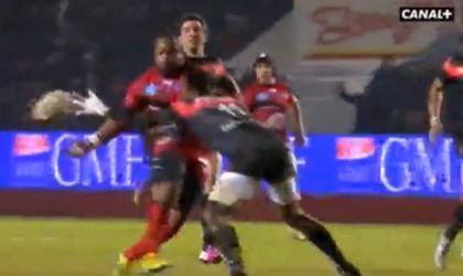 Toulon domine Toulouse à Mayol (35-16)