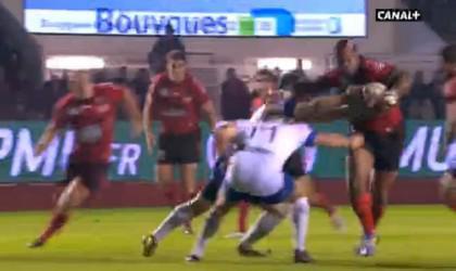 Mathieu Bastareaud de retour en grande forme contre Grenoble