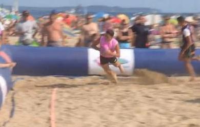 Beach Rugby Tour : Première étape à Bormes-les-Mimosas