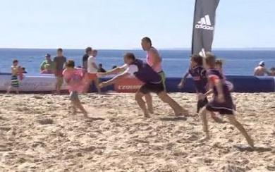 Beach Rugby Tour : 6ème étape à Quiberon