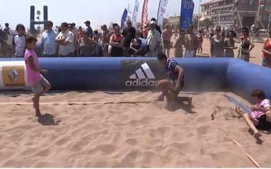 Beach Rugby Tour, étape 2 : Valras Plage