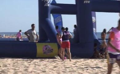 Beach Rugby Tour, étape 3 : Mimizan