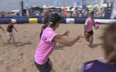 Beach Rugby Tour, étape 4 : Royan