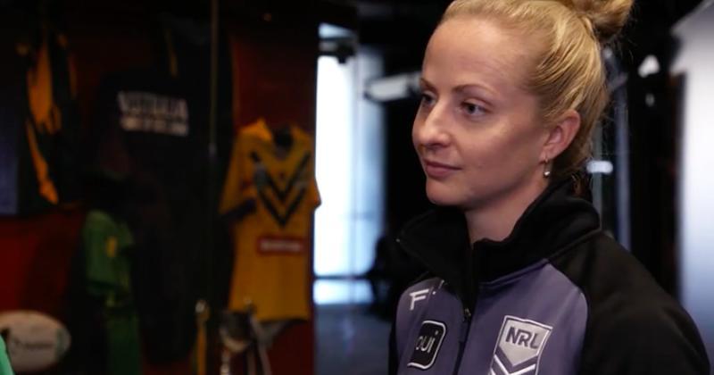 Après 111 ans d'histoire, une femme arbitrera un match de NRL en Australie