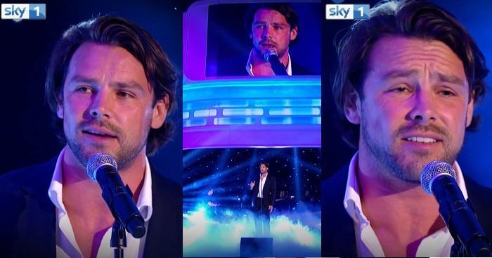 VIDEO. Insolite : l'international Ben Foden prouve qu'il est un excellent chanteur sur la télévision anglaise