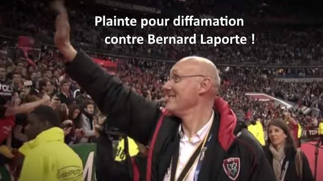 Présidence FFR : Bernard Laporte accusé de diffamation, le candidat contre-attaque