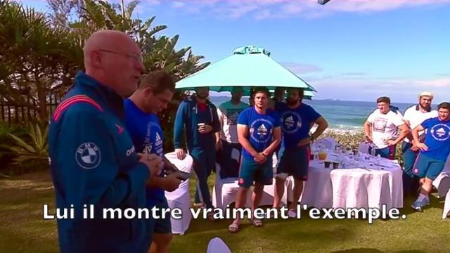 VIDEO. Le discours de Bernard Laporte aux joueurs du XV de France après la nouvelle défaite face aux Boks