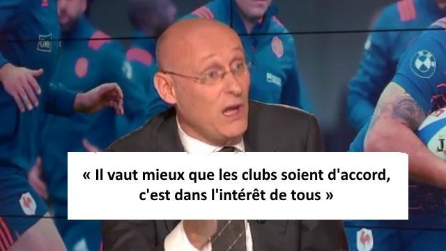 Top 14 : Bernard Laporte souhaite une limitation du nombre d'étrangers, les clubs sous pression ?
