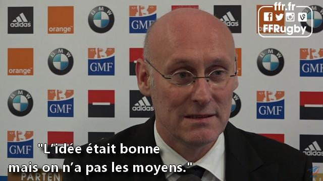 VIDEO. Grand Stade, XV de France, monde amateur, Bernard Laporte veut être sur tous les fronts