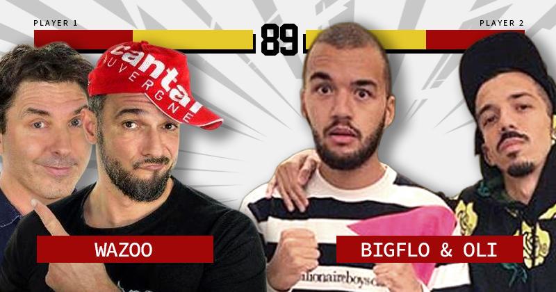 Bigflo et Oli VS Wazoo : qui est le plus Valeurs du rugby © ?