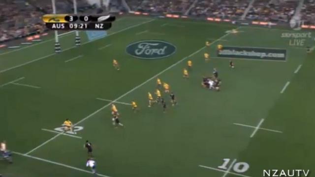 RESUME VIDEO. Bledisloe Cup : La Nouvelle-Zélande contient les assauts de l'Australie