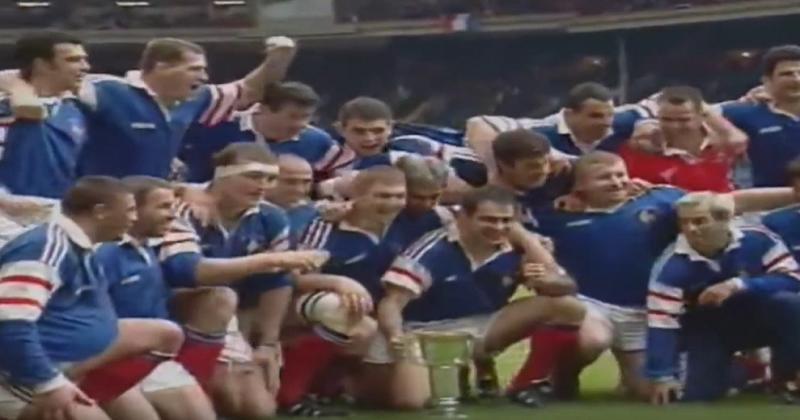 C'était un 5 avril : les Bleus remportaient leur plus beau Grand Chelem à Wembley [VIDEO]