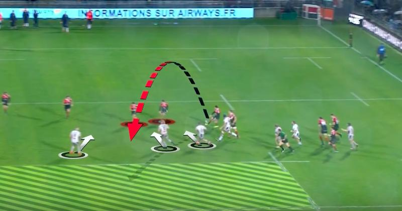 Romain Ntamack pousse le ballon à l'aveugle pour l'essai de Bonneval [Vidéo]