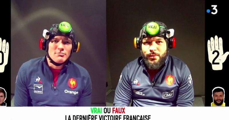 XV de France - Rabah Slimani et Arthur Iturria s'affrontent dans La Boîte à Gifles