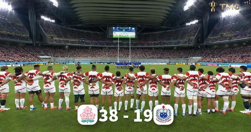Bonus offensif pour le Japon qui prend la tête de sa poule en battant les Samoa