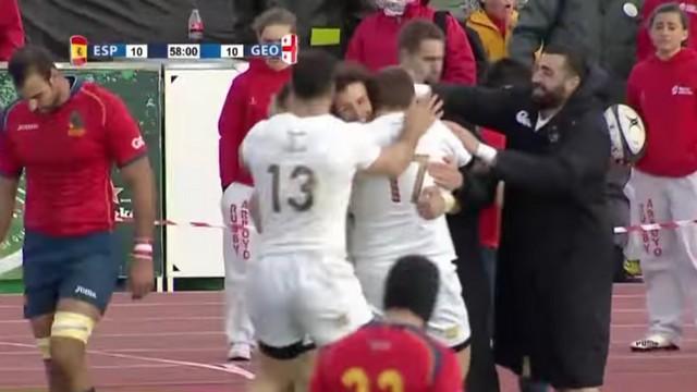 Rugby Europe Championship - Bousculée, la Géorgie s'est imposée par la puissance et l'expérience en terre espagnole