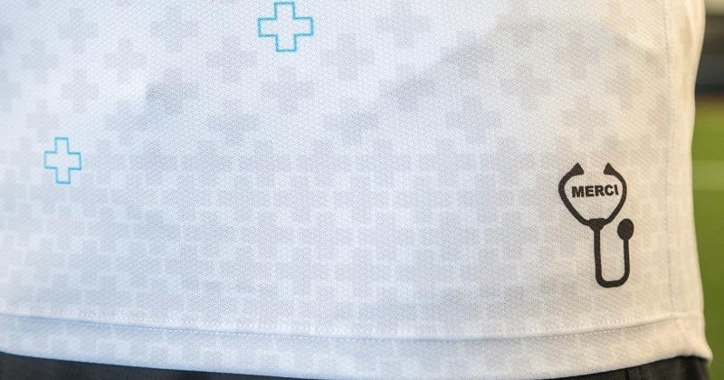 BOXING DAY - Les maillots uniques aux couleurs des soignants enfin dévoilés