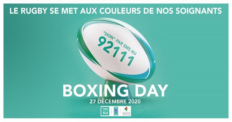 BOXING DAY - Toulon et Clermont porteront un maillot en soutien au personnel soignant