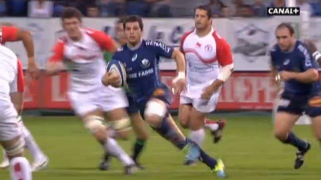RESUME VIDEO. Top 14 - Brice Dulin et Castres humilient le Biarritz Olympique