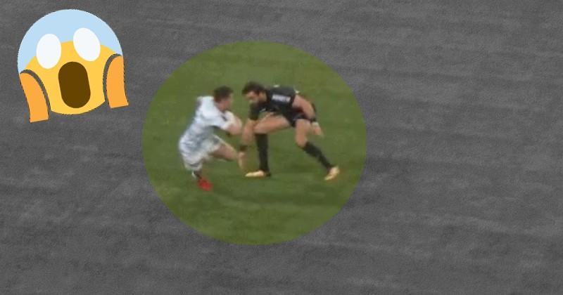 VIDEO. Top 14 - Brice Dulin laisse Yoann Huget pour mort sur les appuis