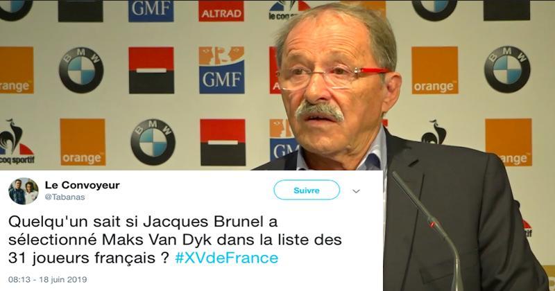 Coupe du monde - La liste de Jacques Brunel vue par les réseaux sociaux