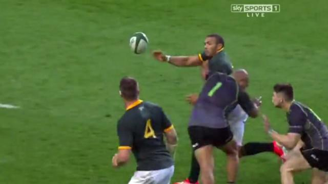 RESUME VIDEO. Springboks : Bryan Habana et Bakkies Botha en grande forme contre le World XV (47-13)