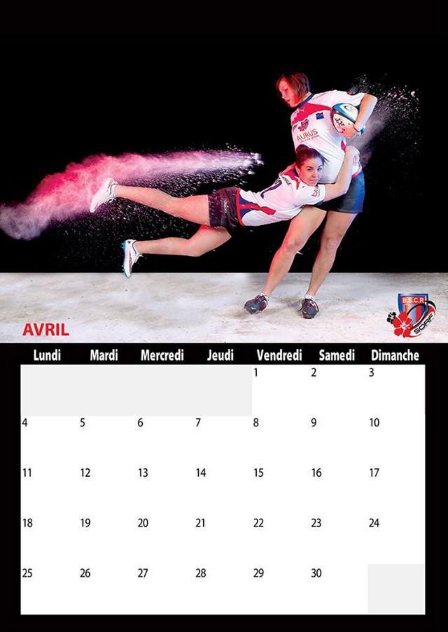 PHOTOS. Les calendriers hauts en couleur des joueuses du TCMS et de Blagnac