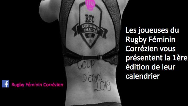 Découvrez le calendrier des joueuses du Rugby Féminin Corrézien