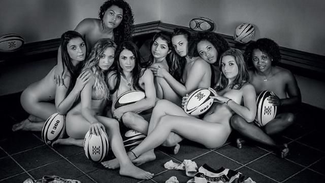 PHOTOS. Le calendrier sexy des Féminines de l'Etang Salé Rugby Club