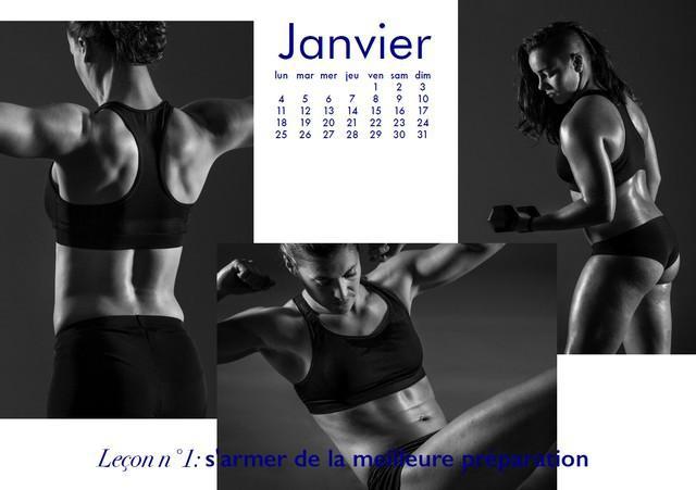 PHOTOS. Entre originalité et sensualité, les calendriers des Louves de Lyon et des POC'ettes de La Rochelle