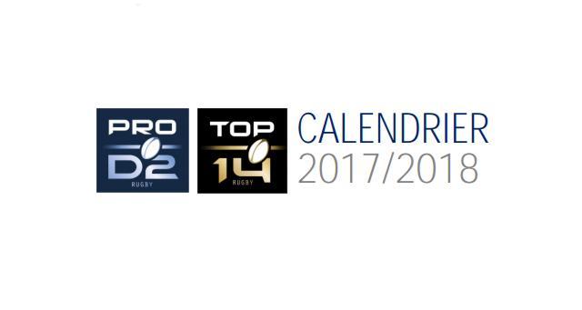 Top 14 / Pro D2 : la LNR dévoile le calendrier complet de la saison 2017/2018