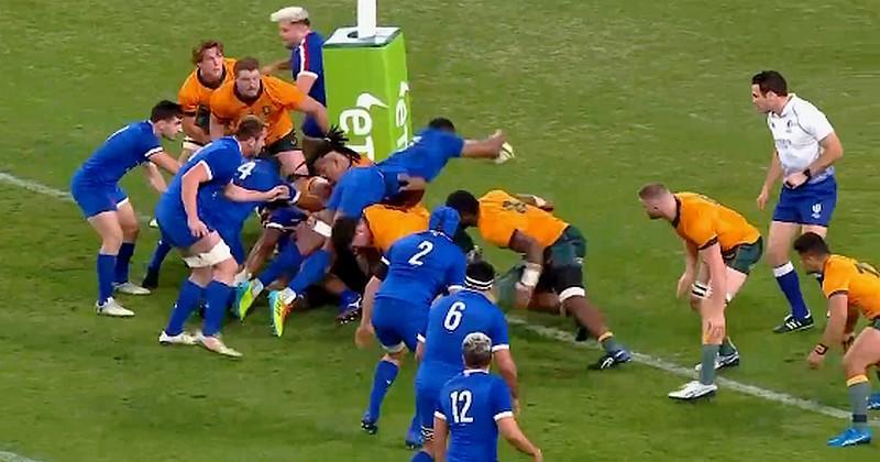 VIDEO. POW POW POW ! Cameron Woki claque un énorme dunk sur le visage des Australiens !