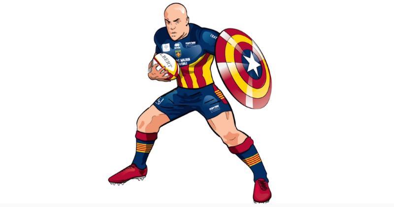 Capità USAP présente le maillot collector de Noël du club catalan [Photo]