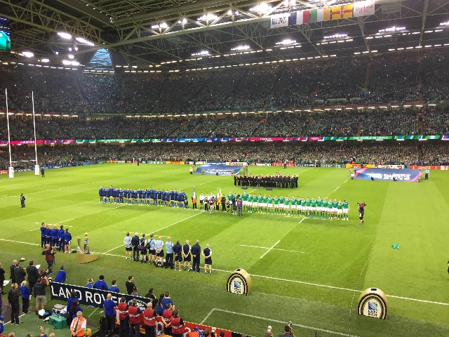 Nous avons vécu France Irlande en direct de Cardiff grâce à @ParAmourDuRugby