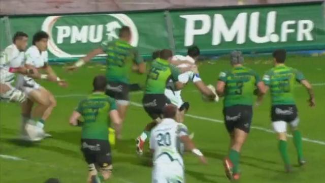 VIDEO. Pro D2. Cardiff Vaega emporte tout sur son passage lors du succès étriqué de Pau à Montauban