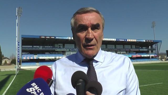 VIDEO. Top 14 - Castres accepte le report des matchs, le Racing 92 répond à la lettre de Mourad Boudjellal